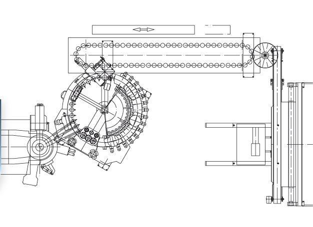 press machine layout
